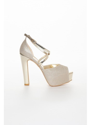 Dilimler Ayakkabı Ayakkabı Altın
